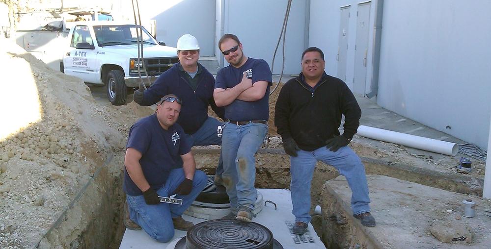 A-Tex Plumbing & Utilities Staff