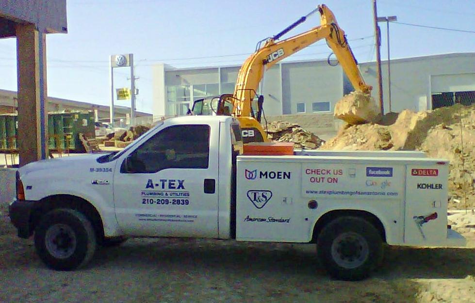 San Antonio Plumbing Repair Truck